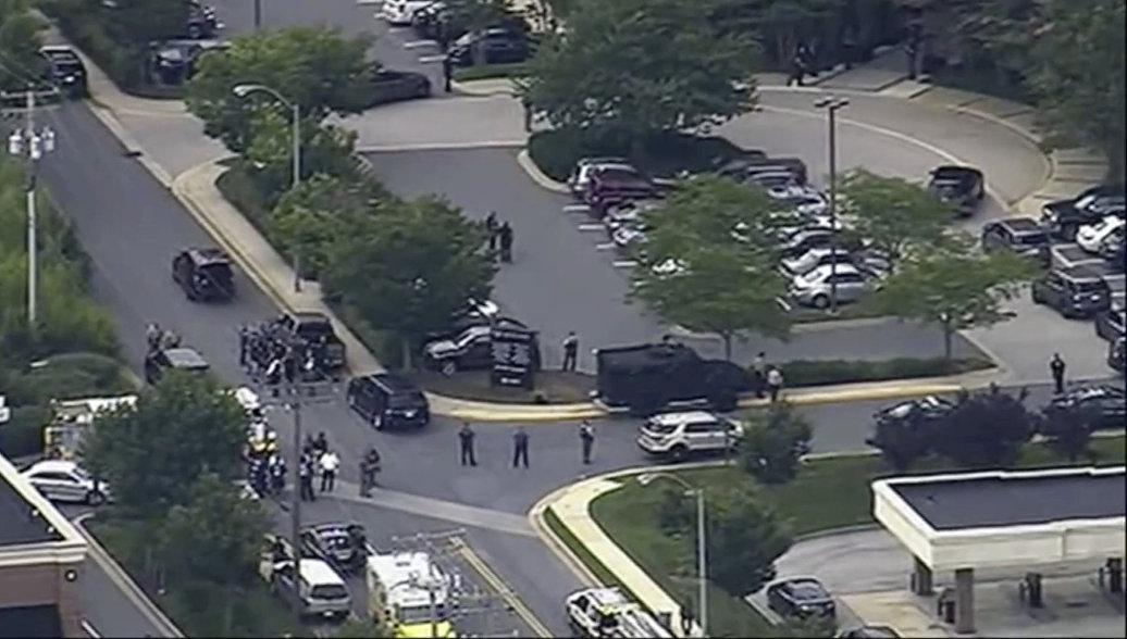 В здании редакции газеты в Мэриленде найдено взрывное устройство