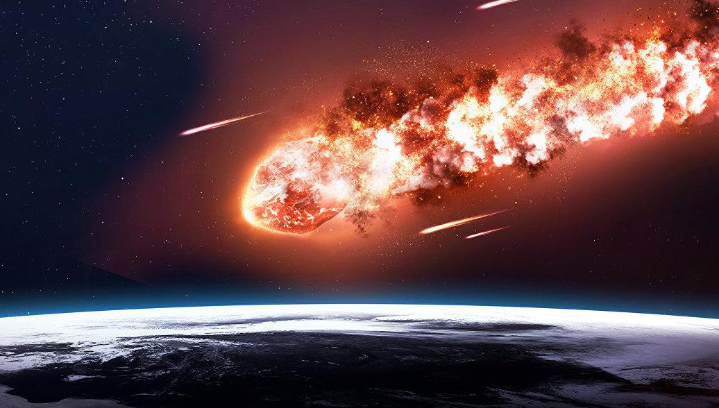 Двухметровый астероид взорвался над Африкой, сообщают в НАСА