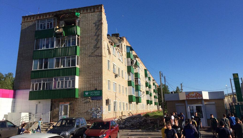 В Татарстане 16 человек эвакуировали из-за взрыва в жилом доме