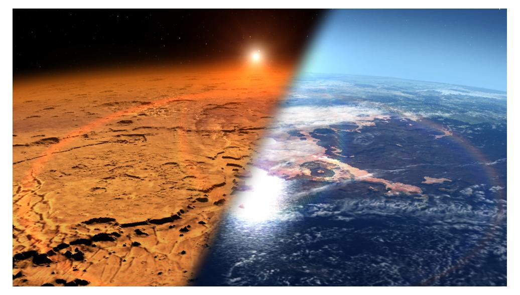Биологи нашли в гейзерах бактерию, способную жить на Марсе