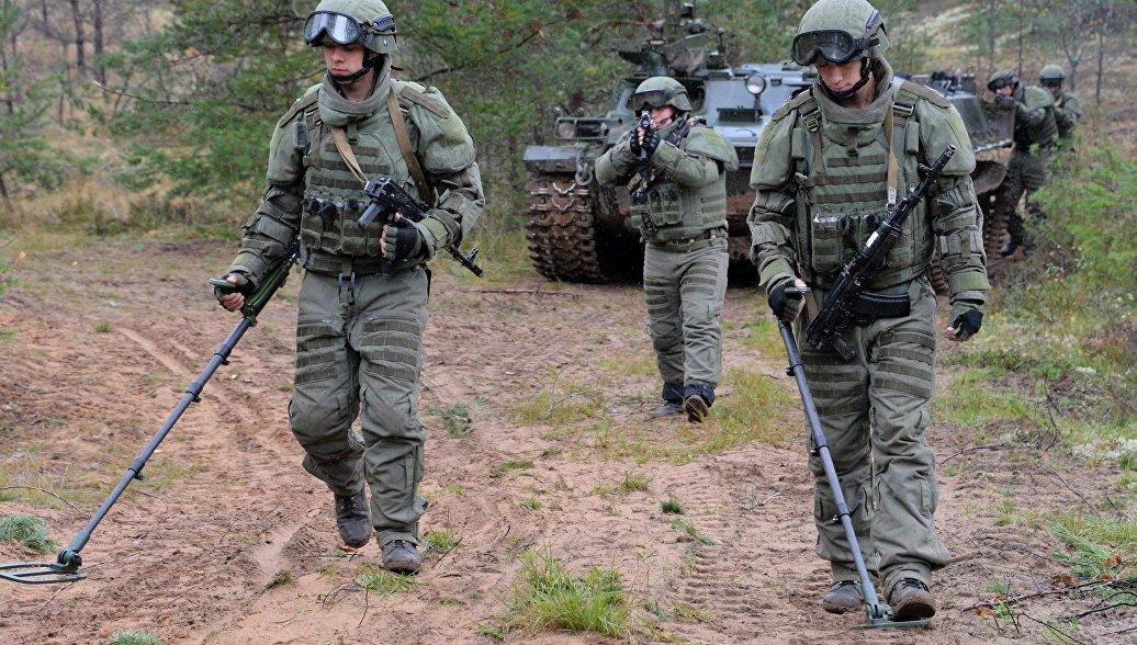 Российские штурмовики-саперы получат новую боевую экипировку