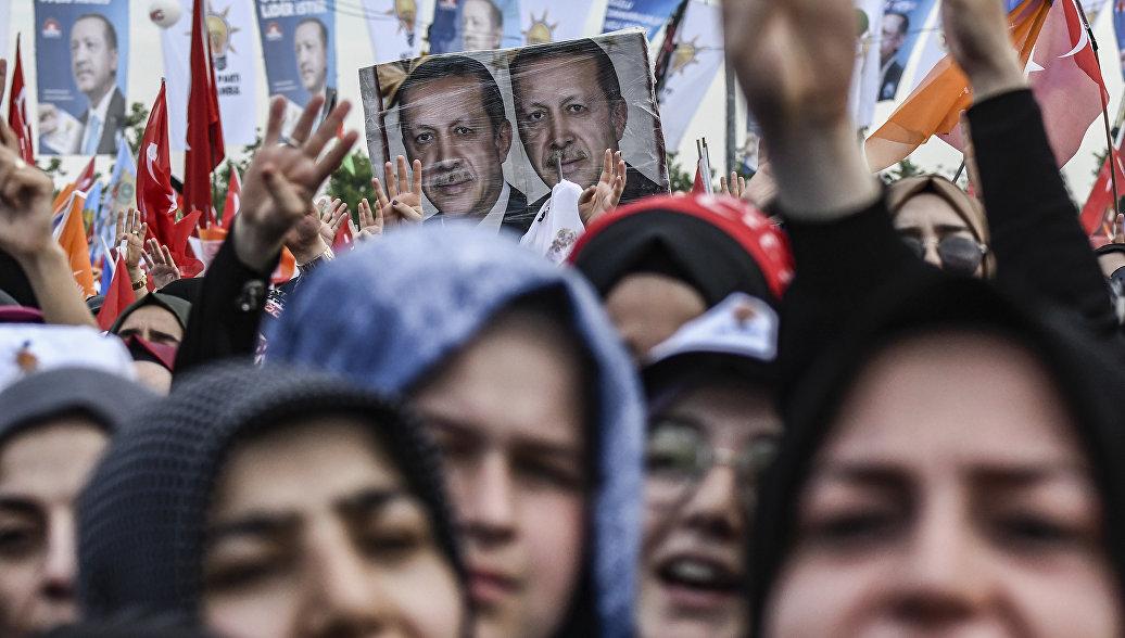 Эрдоган лидирует на президентских выборах после обработки 19,6% бюллетеней