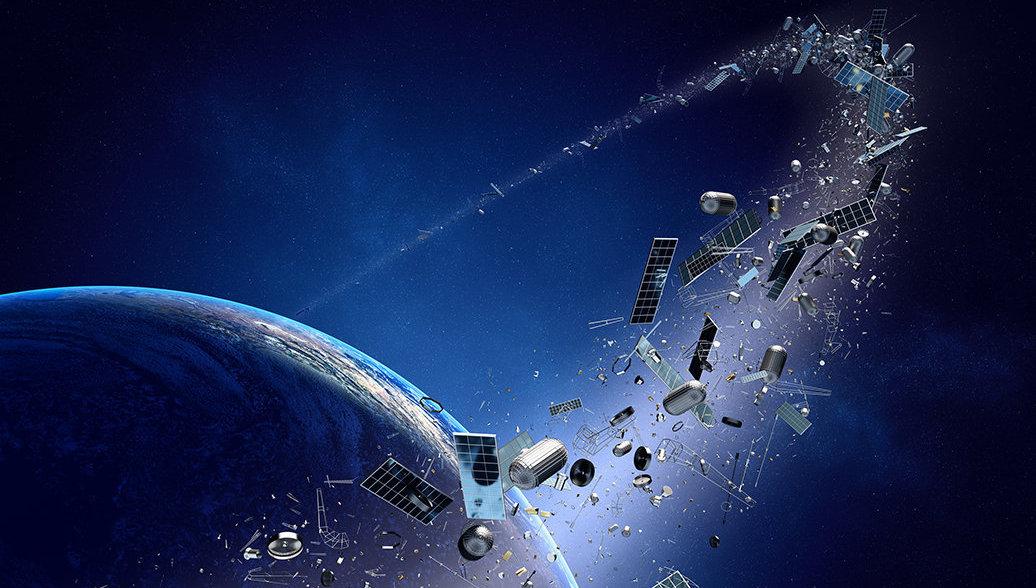 В России придумали лазерную пушку для уничтожения космического мусора над Землей