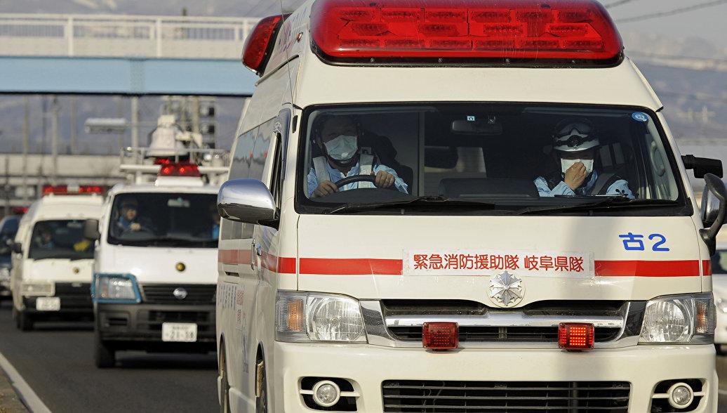 В Японии не менее восьми человек пострадали при землетрясении