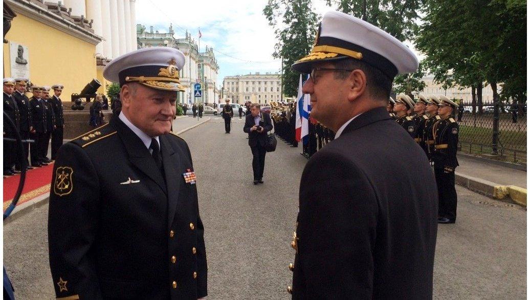 Делегации ВМС Турции посетила Санкт-Петербург
