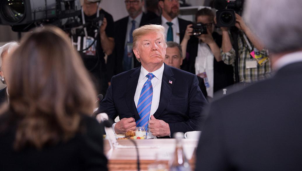 WSJ рассказала, как американский президент хамил партнерам по