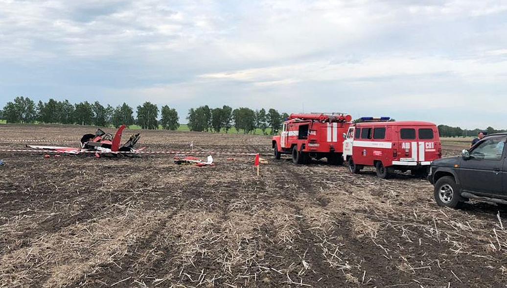 Следственный комитет возбудил дело из-за крушения самолета Як-52 на Алтае