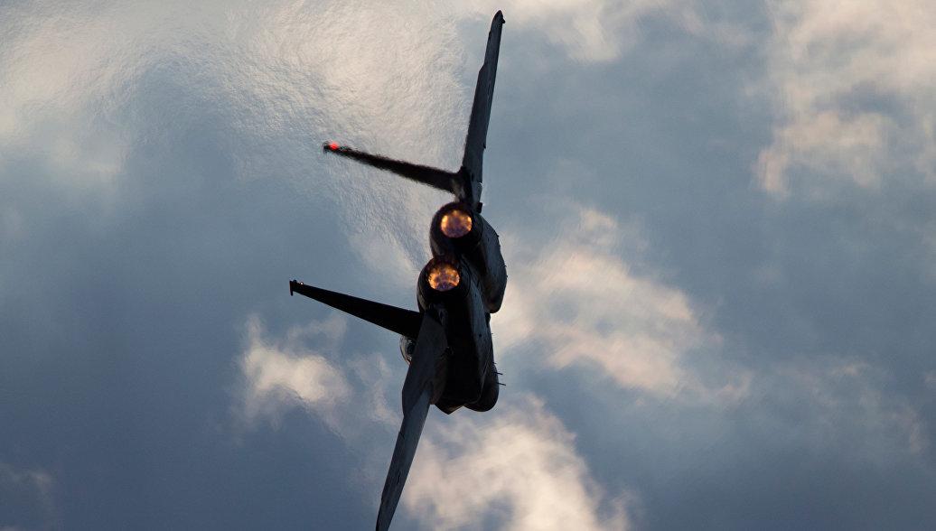 ВВС Израиля нанесли два ракетных удара по базе палестинских боевиков в Газе