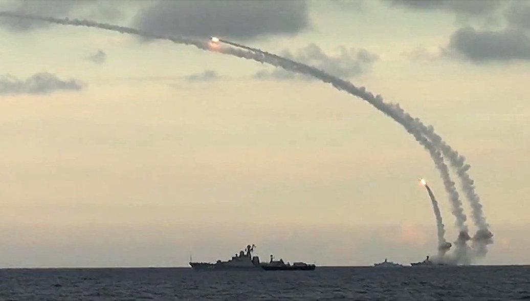 Российские корабли провели антитеррористические учения в Восточно-Китайском море