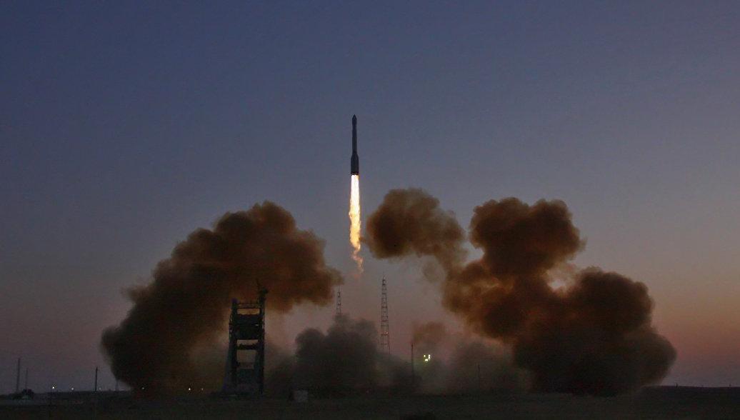 С космодрома Плесецк запустили очередной спутник