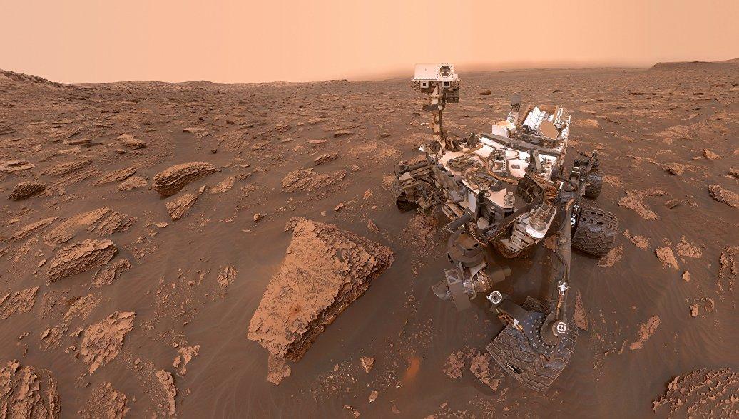 Пылевая буря на Марсе охватила всю планету, заявляют в НАСА
