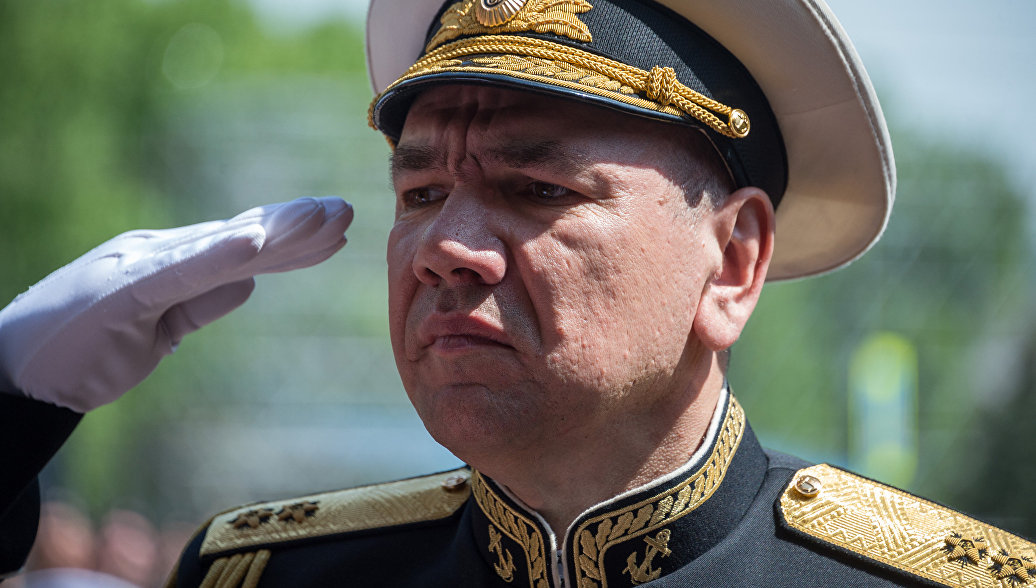 Назначен новый командующий Черноморским флотом