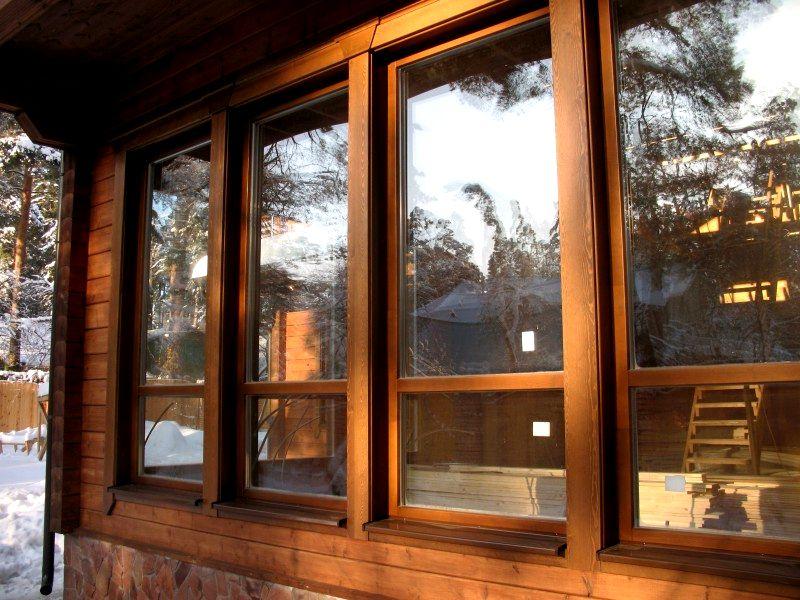 Деревянные окна в Санкт Петербурге