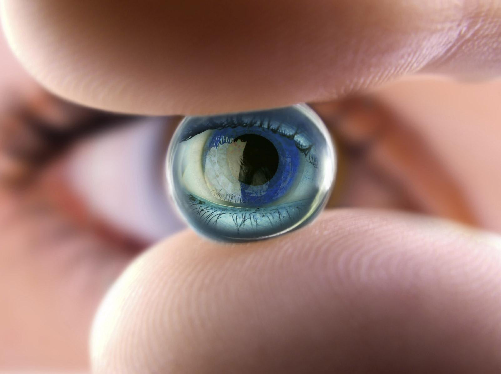 Комфортные контактные линзы для ваших глаз