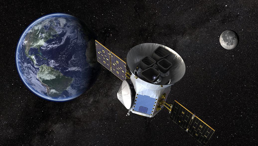 Телескоп TESS официально начал поиски