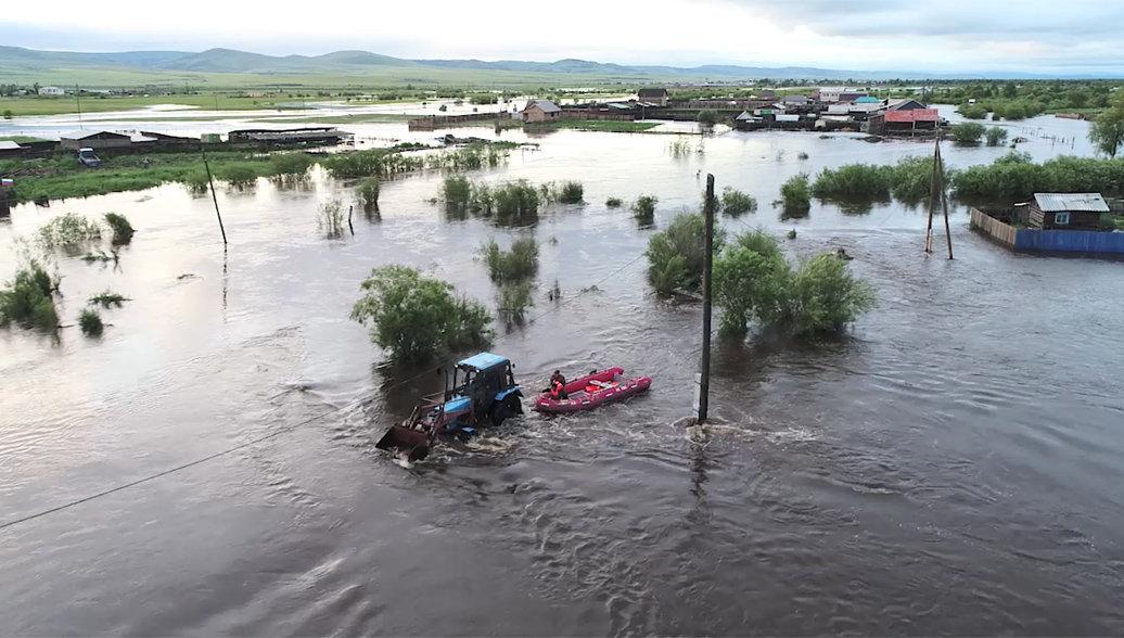 В Приамурье усилили группировку спасателей для борьбы с паводком