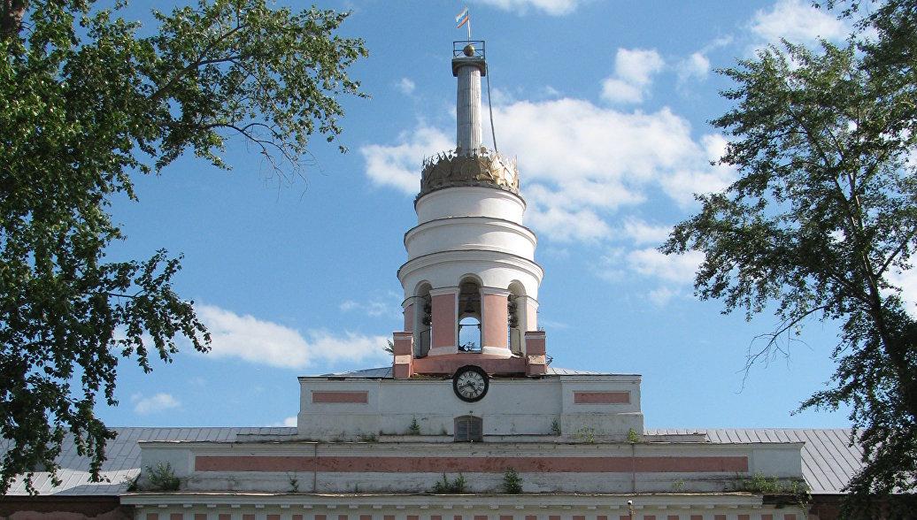 В МЧС назвали возможную причину пожара на башне оружейного завода в Ижевске