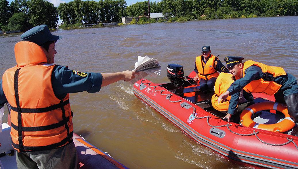 МЧС направит еще 70 спасателей в Забайкалье из-за паводков