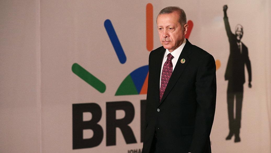 Эрдоган попросил БРИКС принять Турцию в организацию
