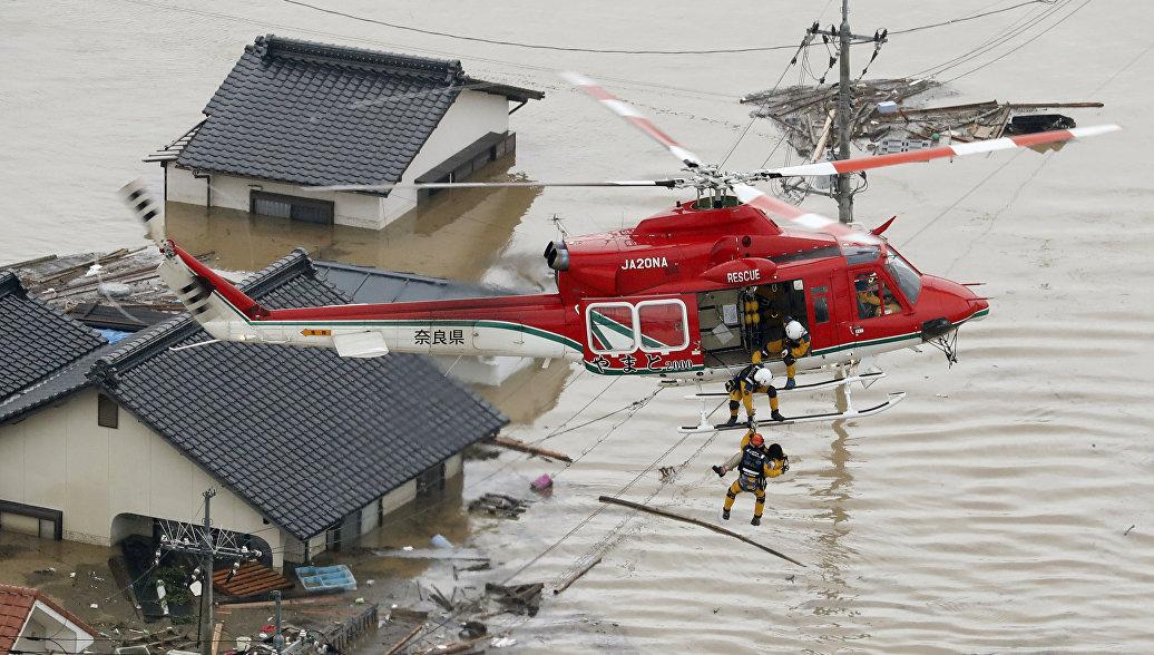 Более 60 человек погибли из-за ливней в Японии