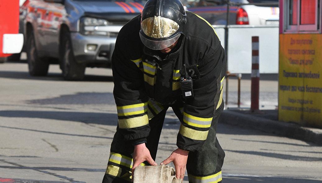 Пожар в гостинице в Анапе потушили