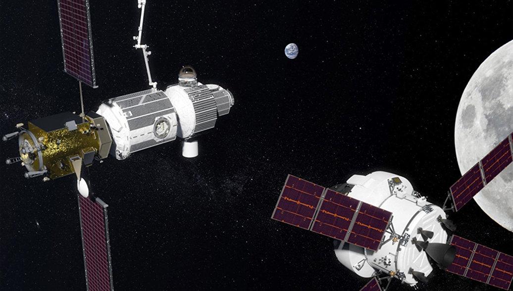 Российские модули от МКС хотят использовать при создании станции на орбите Луны