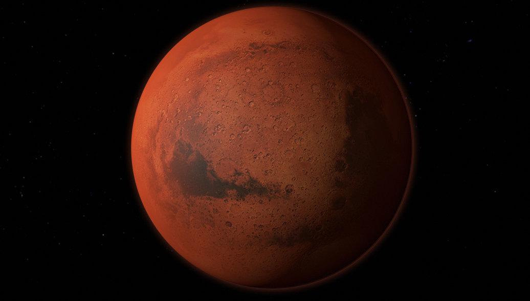 На Марсе обнаружили подземное озеро с жидкой водой