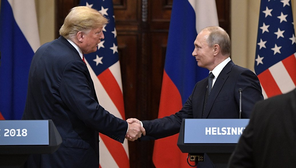 Трамп заявил, что он не мягок с Путиным