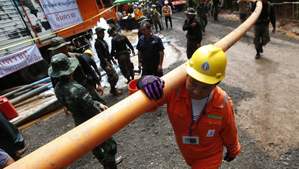 Маск предложил создать мини-субмарину для спасения детей в Таиланде
