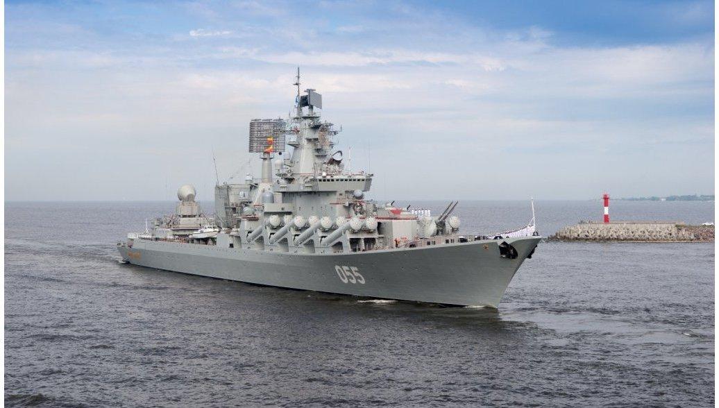 Отряд кораблей Северного флота прибыл в Финский залив на парад