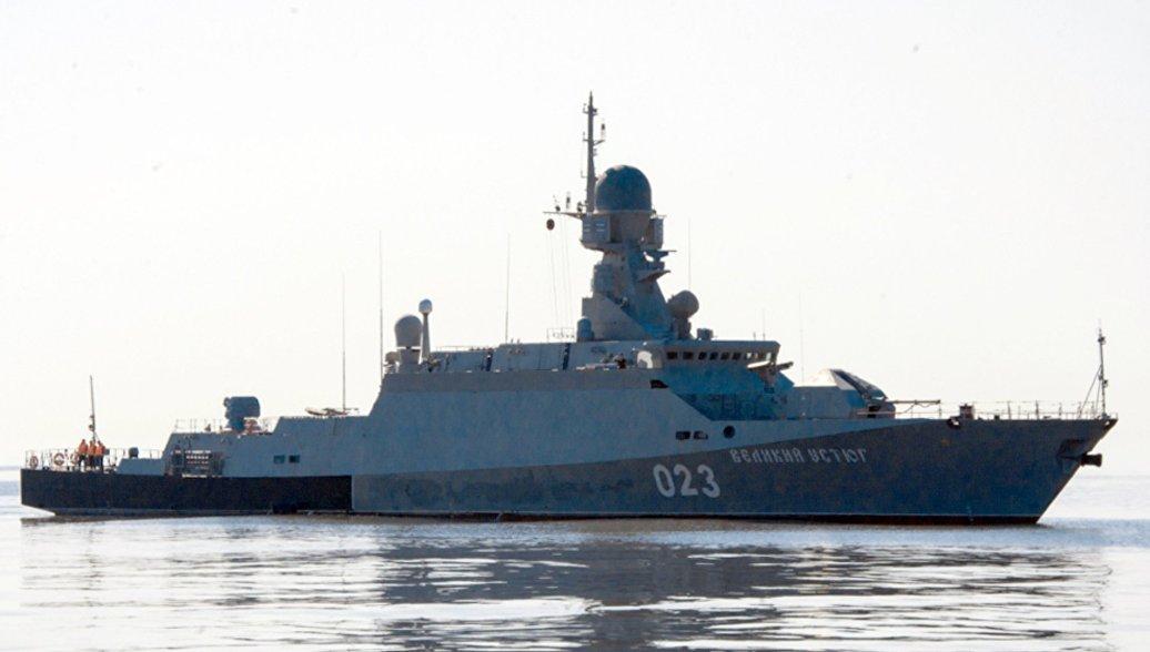 Порт в Каспийске примет боевые корабли до конца 2018 года