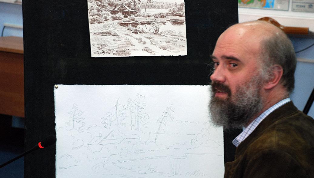 Путин поздравил художника Андрияку с юбилеем
