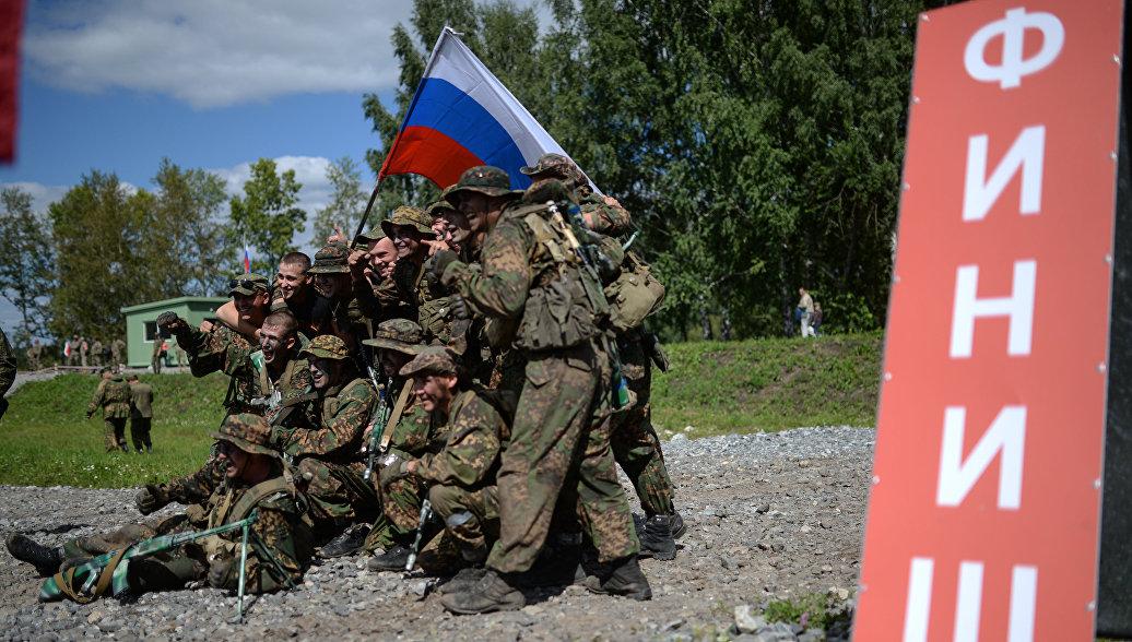Российские военные выиграли первый этап конкурса разведчиков на АрМИ-2018