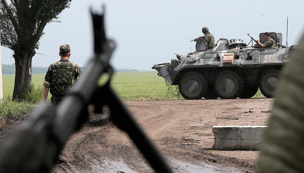 В ЛНР заявили, что силовики вновь обстреляли территорию республики