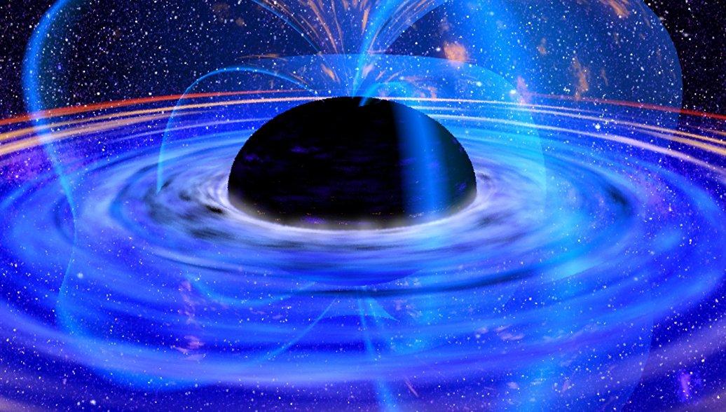 Черные дыры могут быть гигантским
