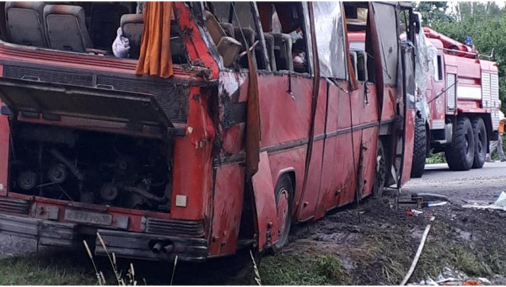 В Удмуртии рассказали подробности о пострадавших в ДТП с автобусом артистах