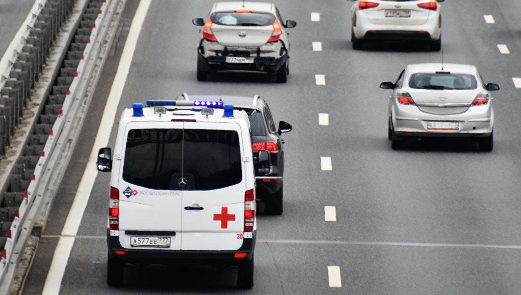 В подольский травмцентр эвакуируют семерых пострадавших в ДТП с автобусом