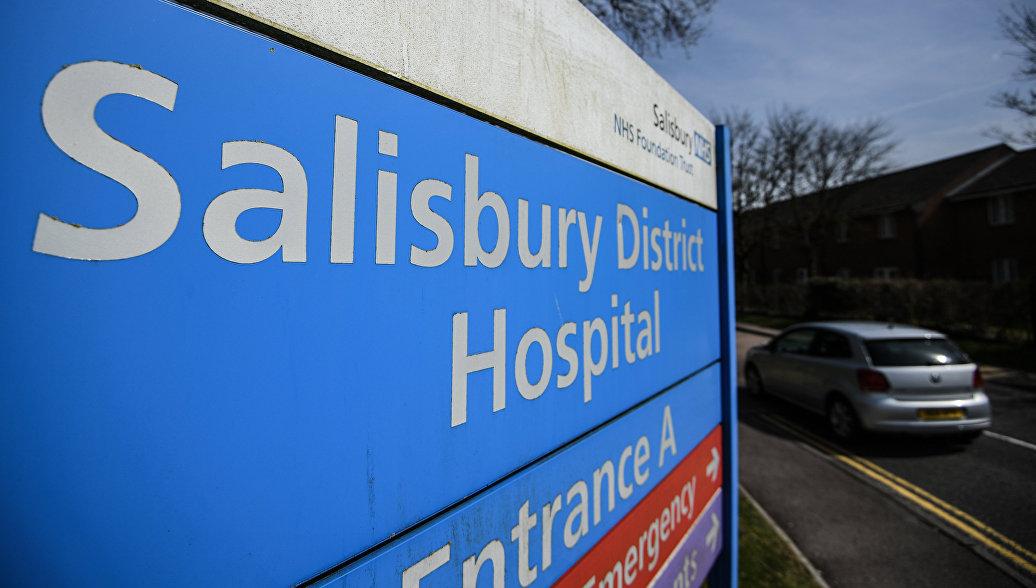 В Солсбери у полицейского заподозрили отравление нервно-паралитическим веществом