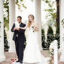 Арт-декор на свадьбе - от стразов до цемента