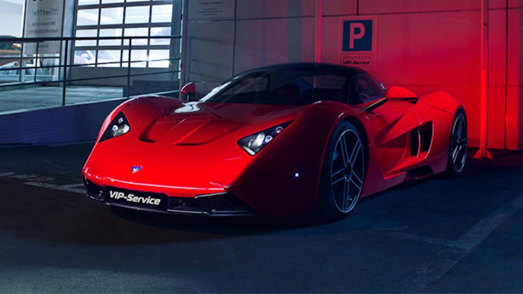 В Новосибирске выставили на продажу спорткар Marussia за десять миллионов рублей