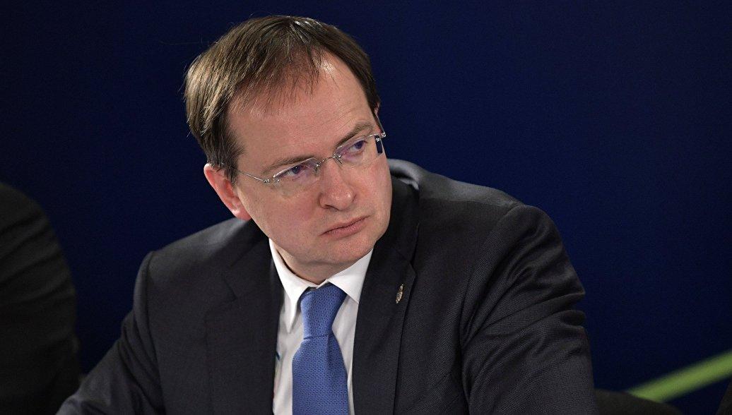 Мединский рассказал об ожиданиях от работы своего нового советника