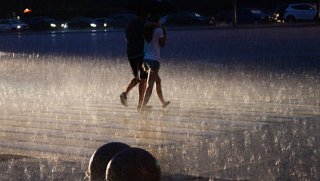 В Приморье объявили штормовое предупреждение из-за предстоящих ливней