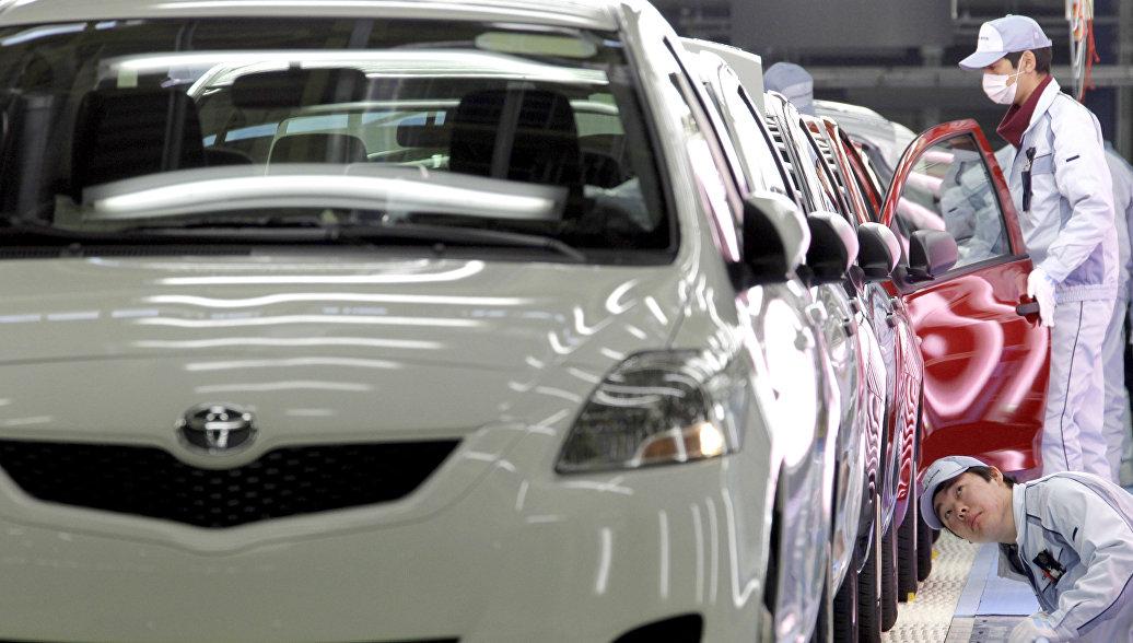 Toyota отзывает более 20 тысяч авто в России