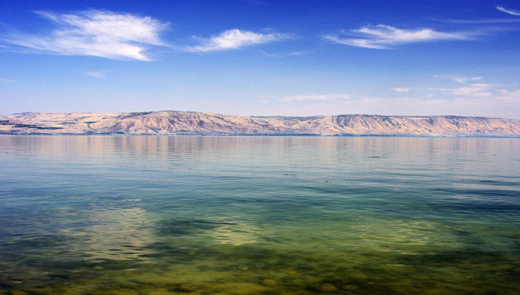 Ученые сообщили о резком обмелении озера Кинерет в Израиле