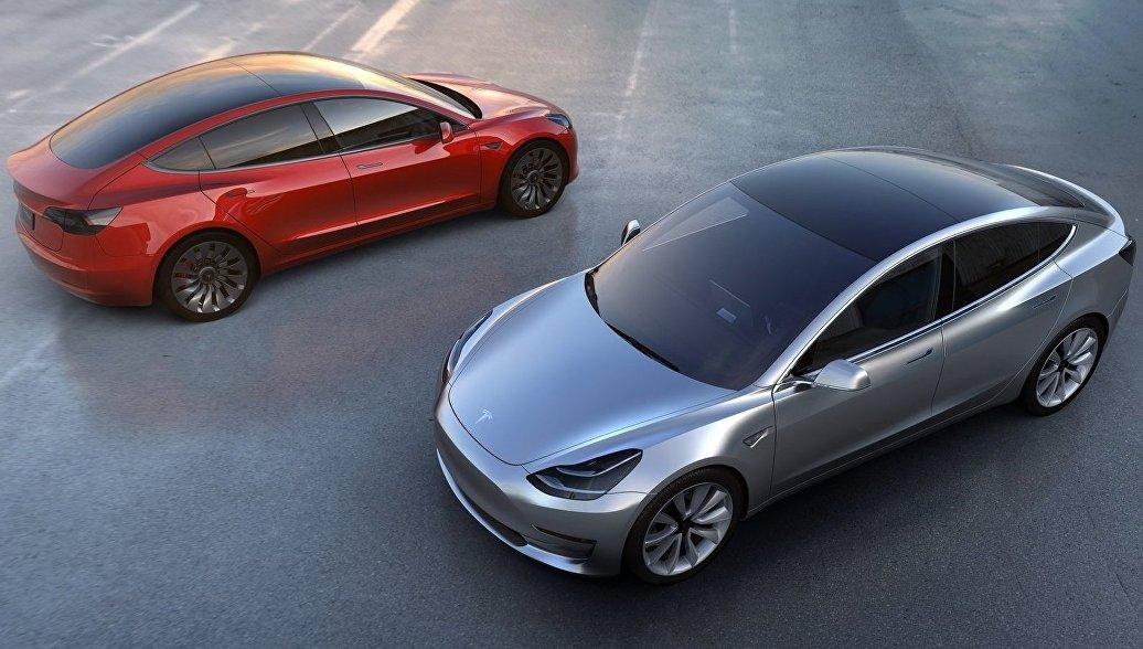 Продажи Tesla в России в первом полугодии выросли в 1,5 раза