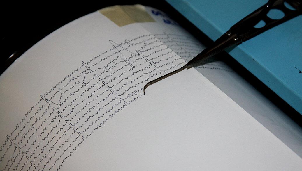 Возле Курильских островов зафиксировано землетрясение магнитудой 6,0
