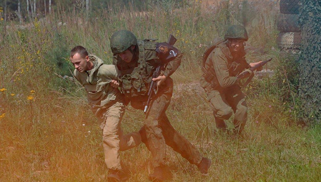 Российские военные полицейские победили в финале конкурса