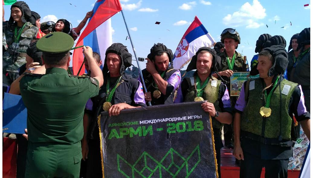 Российские военные победили в конкурсе