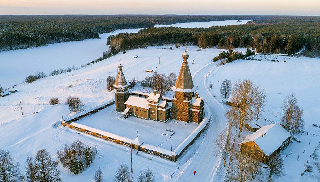 В Кенозерском нацпарке восстановлен храмовый комплекс XVIII века