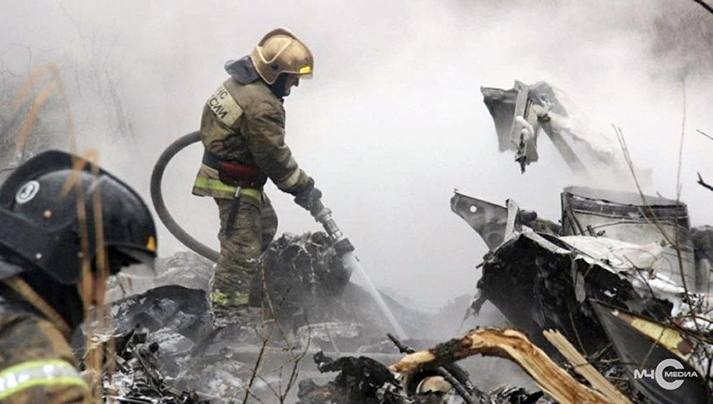 В Красноярском крае объявили день траура по погибшим в крушении Ми-8